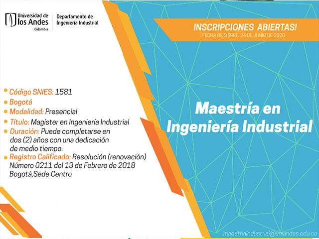 Ingeniería Industrial | Uniandes